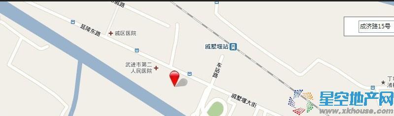 福鑫园交通图