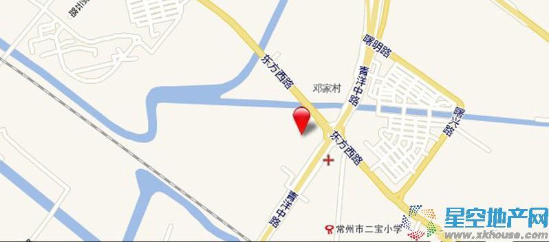 紫韵香庭交通图