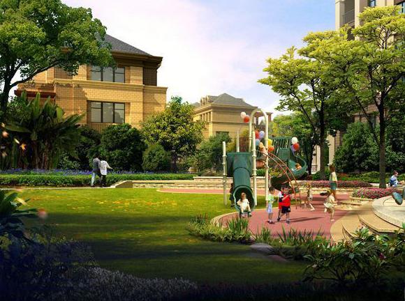 龙德花园效果图