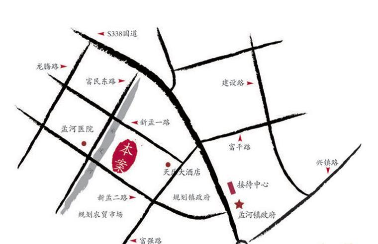 映像江南交通图