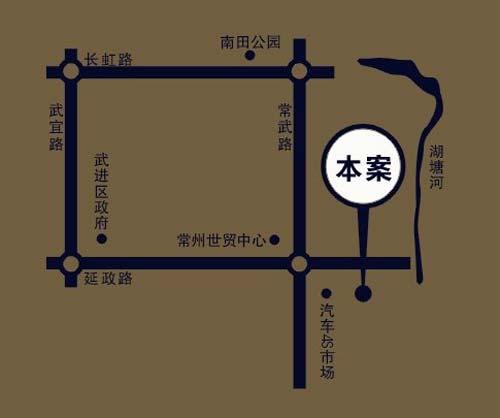 万泽国际交通图