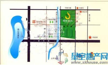 阳光城市交通图
