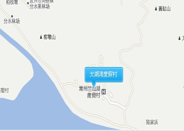 太湖湾度假村交通图
