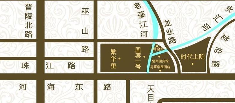 九龙仓繁华里交通图