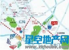 水晶城交通图