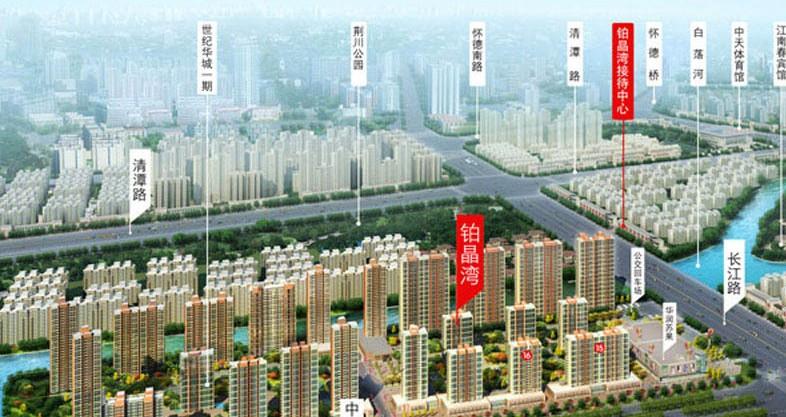 世纪华城二期铂晶湾交通图