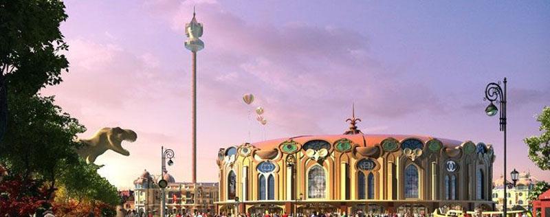 迪诺水镇_恐龙主题精装产权酒店在售,户型面积50-80㎡,均价13000元/平
