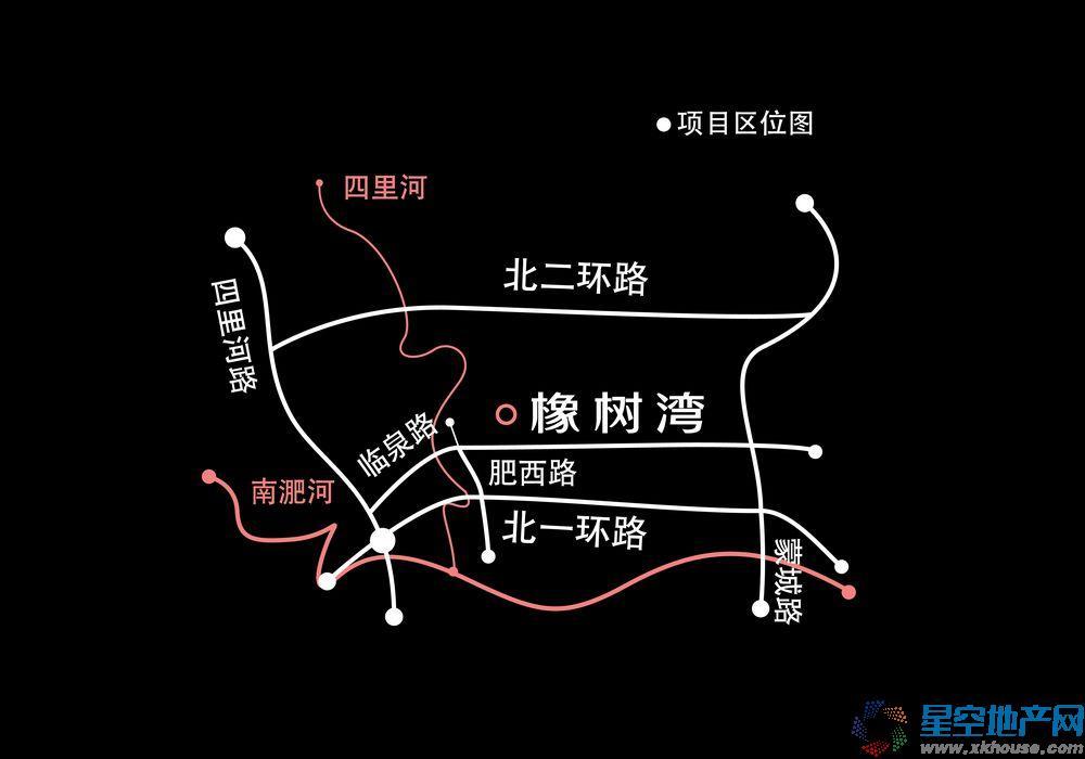 华润橡树湾交通图
