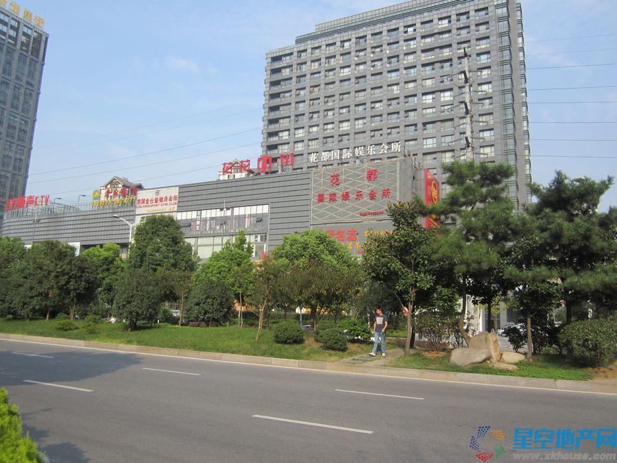 中侨中心周边环境图