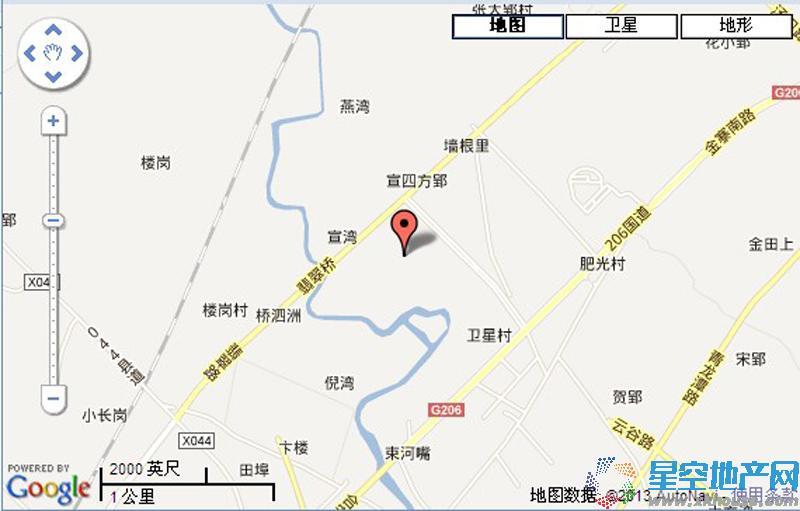 中国院子交通图