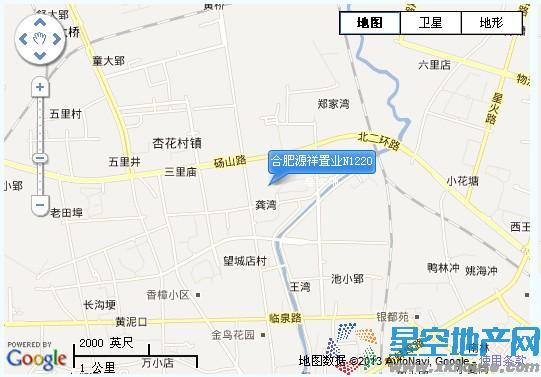 源祥广场交通图