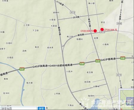 中恒置业长丰县CF201309地块交通图