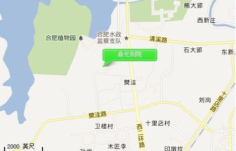 鼎元别院交通图