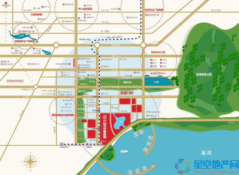 万年埠·梧桐街交通图