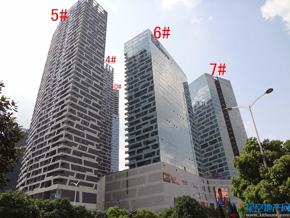 新地中心楼号图