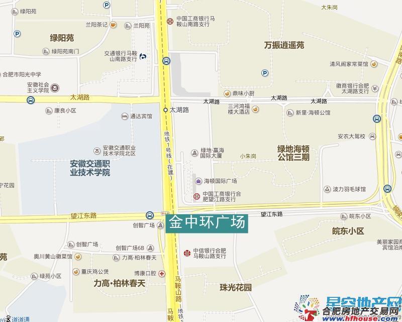 金中环广场交通图