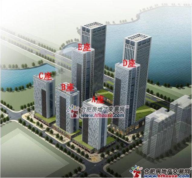 蔚蓝商务港楼号图