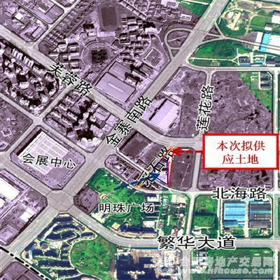 正大桐山国际广场交通图