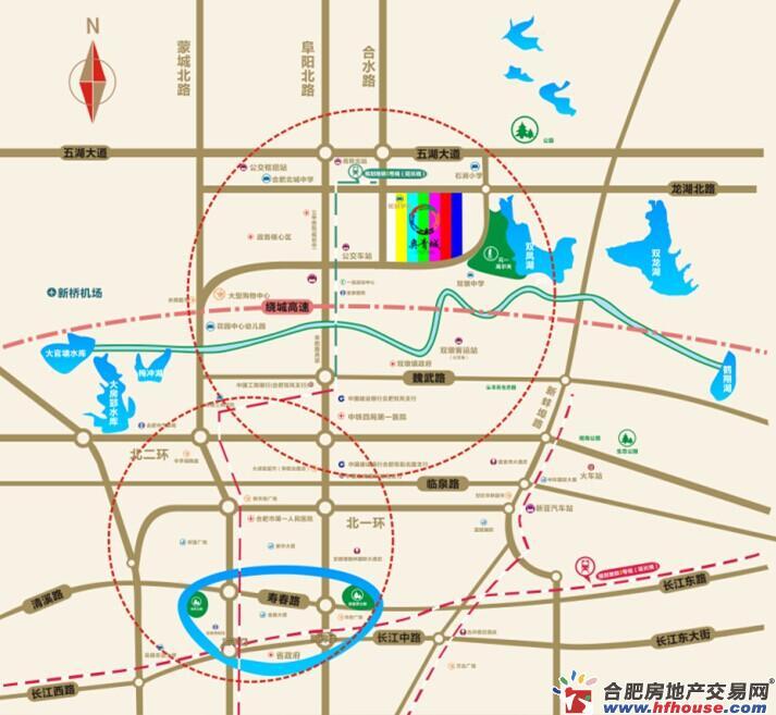 奥青城交通图