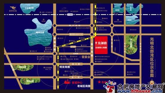 光明北部湾交通图