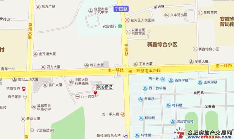 金保合肥中心交通图