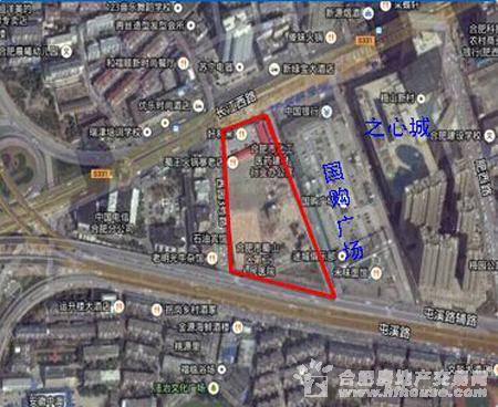 国购蜀山区W1501号地块交通图