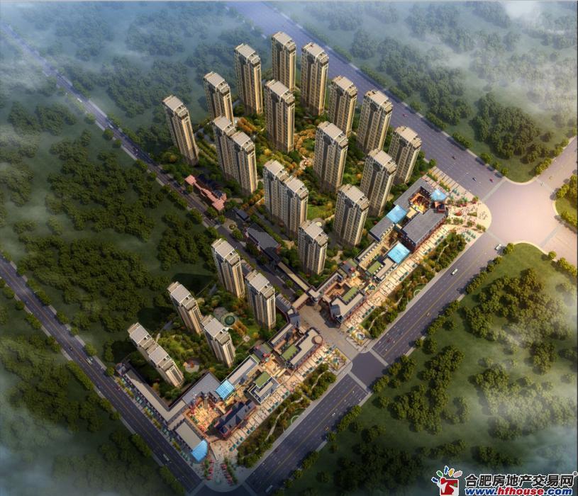 禹洲中央城效果图