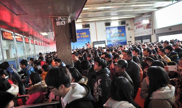 春运火车票7日起开卖 网络电话订票预售20天