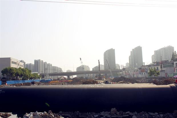 高清:合肥葛大店192亩地拆迁 住户舍不得