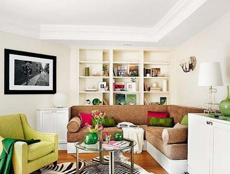家庭装修效果图 9万搞定50平单身公寓