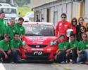 操控一流 比亚迪F0勇夺菲律宾汽车锦标赛亚军