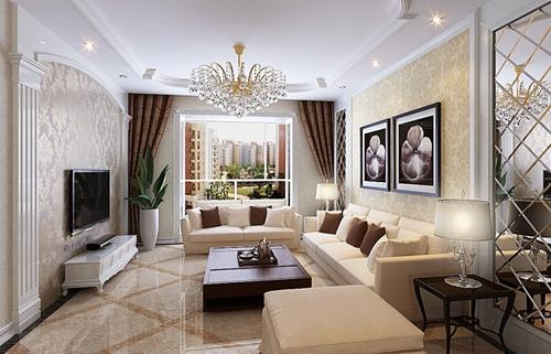 欧式客厅装修效果图大全2014图片欣赏图片