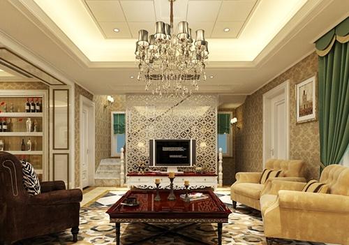 2015欧式客厅装修效果图 12款精致会客空间图片