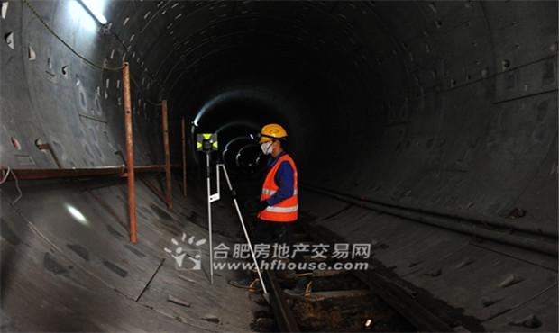 """合肥大建设:地铁1号线葛大店站正""""装修"""""""