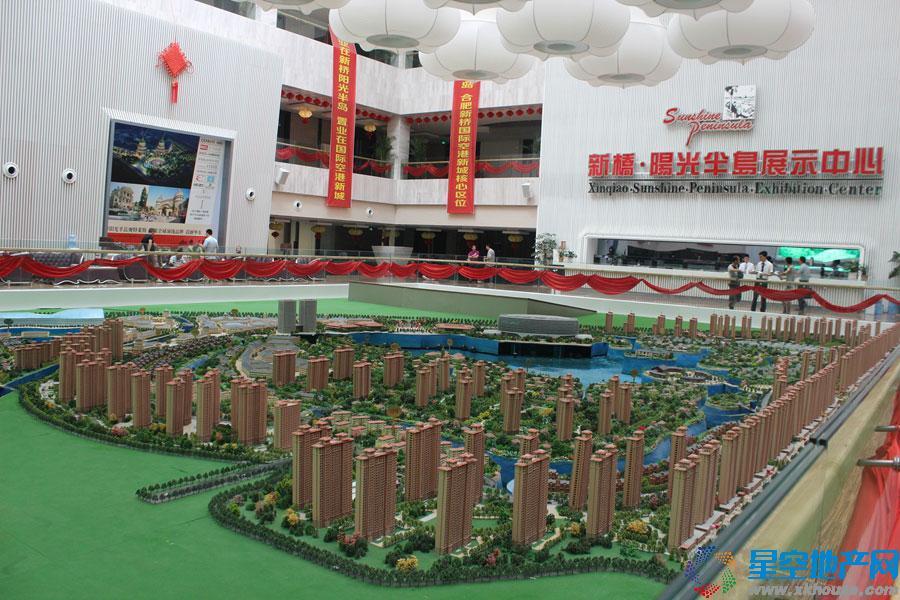 新桥阳光半岛位于新桥国际产业园,新桥机场快速通道东侧.图片