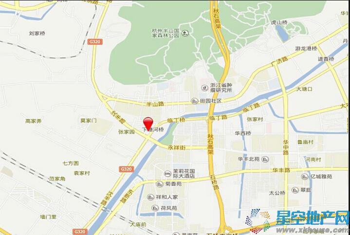 宋都香悦郡交通图
