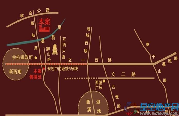 金顺锦绣时代交通图