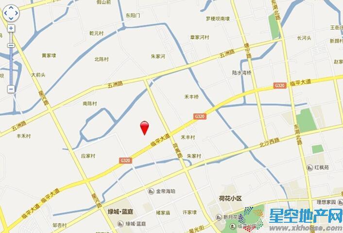 元茂欣苑交通图