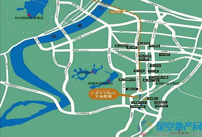 华成·天地泊庄交通图