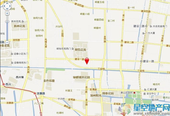 中国铁建·青秀城交通图
