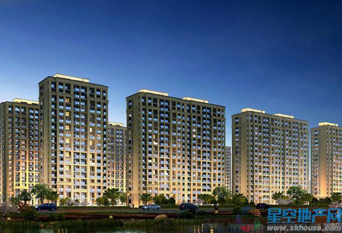 中国铁建·青秀城效果图