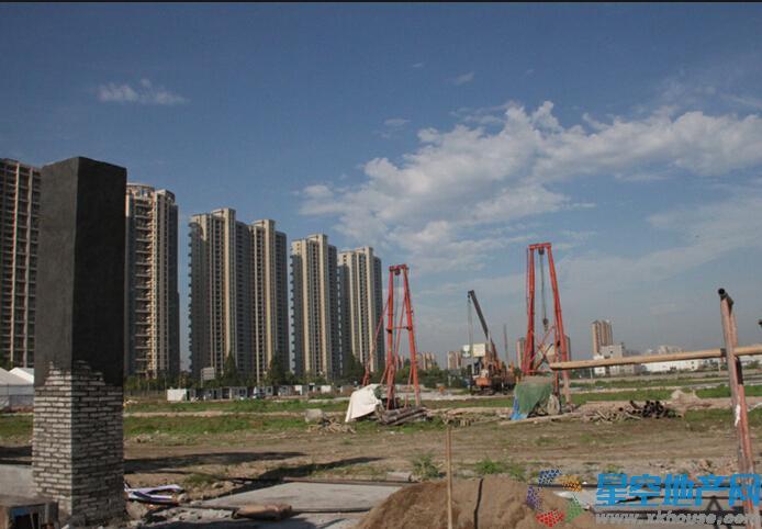 中国铁建·青秀城实景图