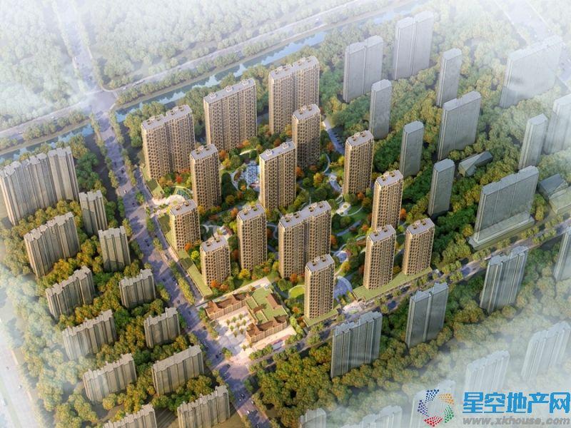 中国铁建·江南国际城楼号图