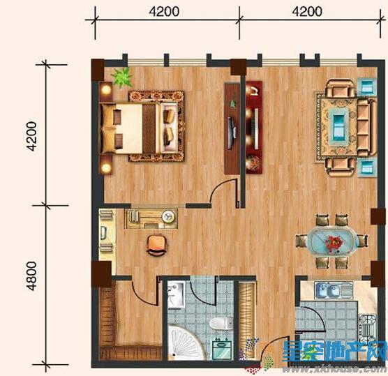 湘湖居三室二厅一卫