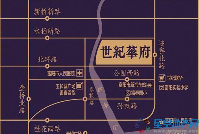 九龙仓·世纪华府交通图