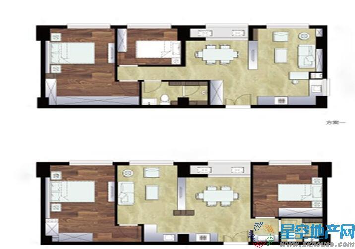 天鸿·美和院二室一厅一卫