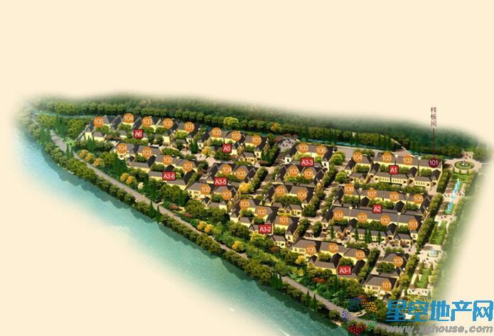绿城·青山湖红枫园效果图