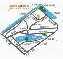 满庭春MOMΛ·朝阳里交通图