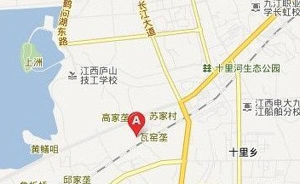 九江中航城交通图