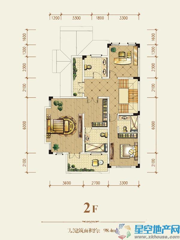 茂丰·半山溪谷五室以上一厅三卫
